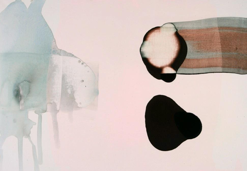 "Fra serien ""Once Innocence""70 x 100 cm Acryl/lerret"