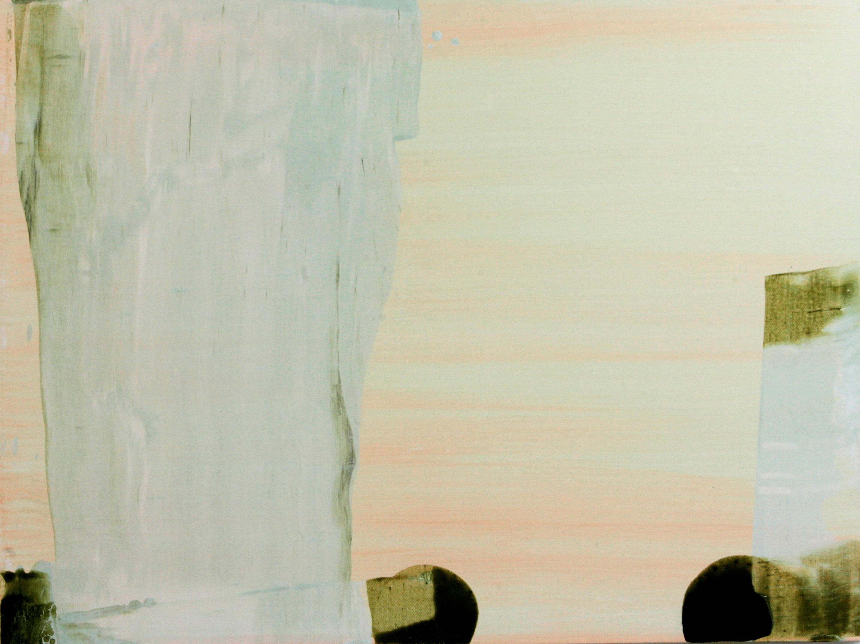 """Fra utstillingen: """"Rise and fall - Fall and rise""""60 x 80 Acryl på lerret"""