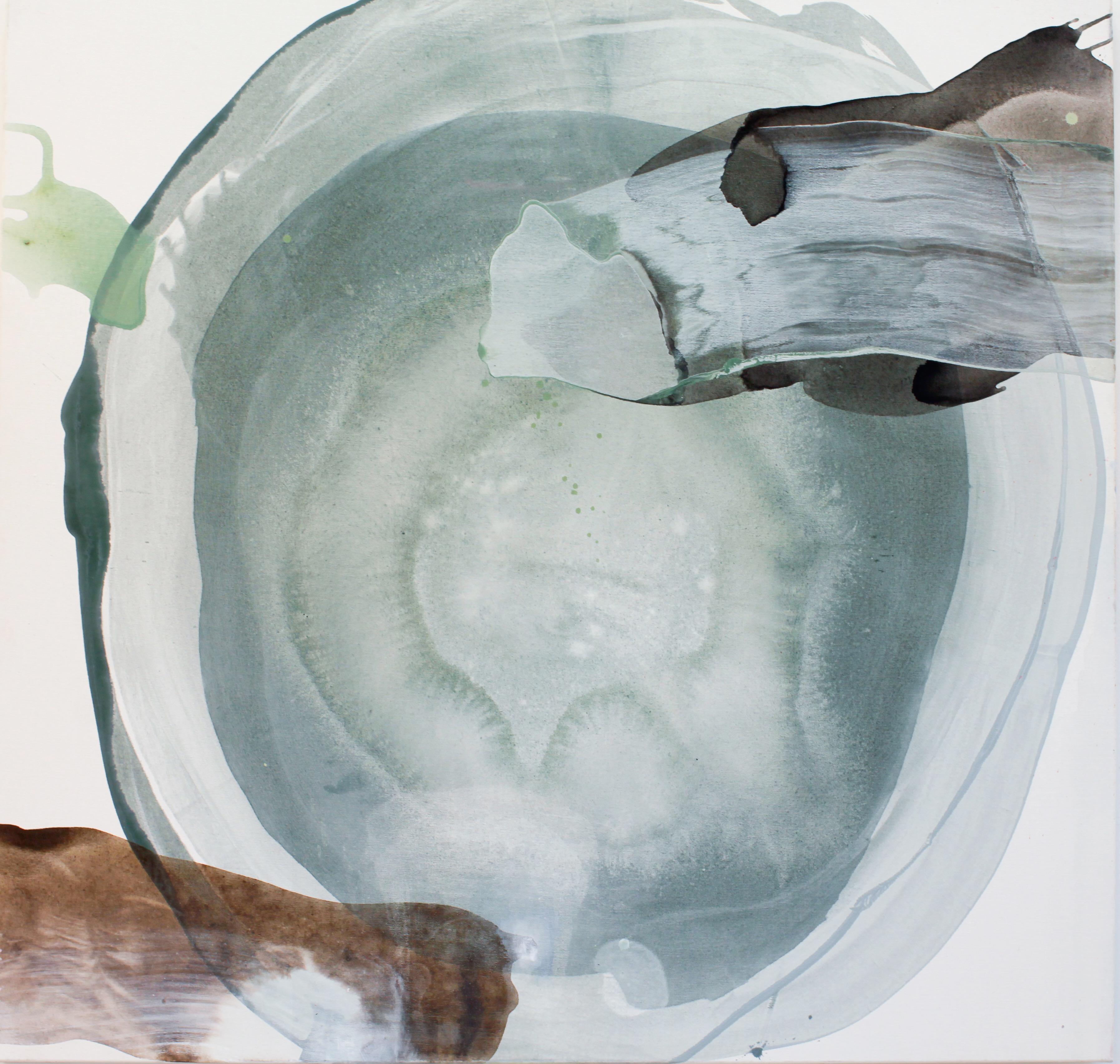 "11 Fragranza Visibile ""Thundra"" 120x125cm acryl/lerret"