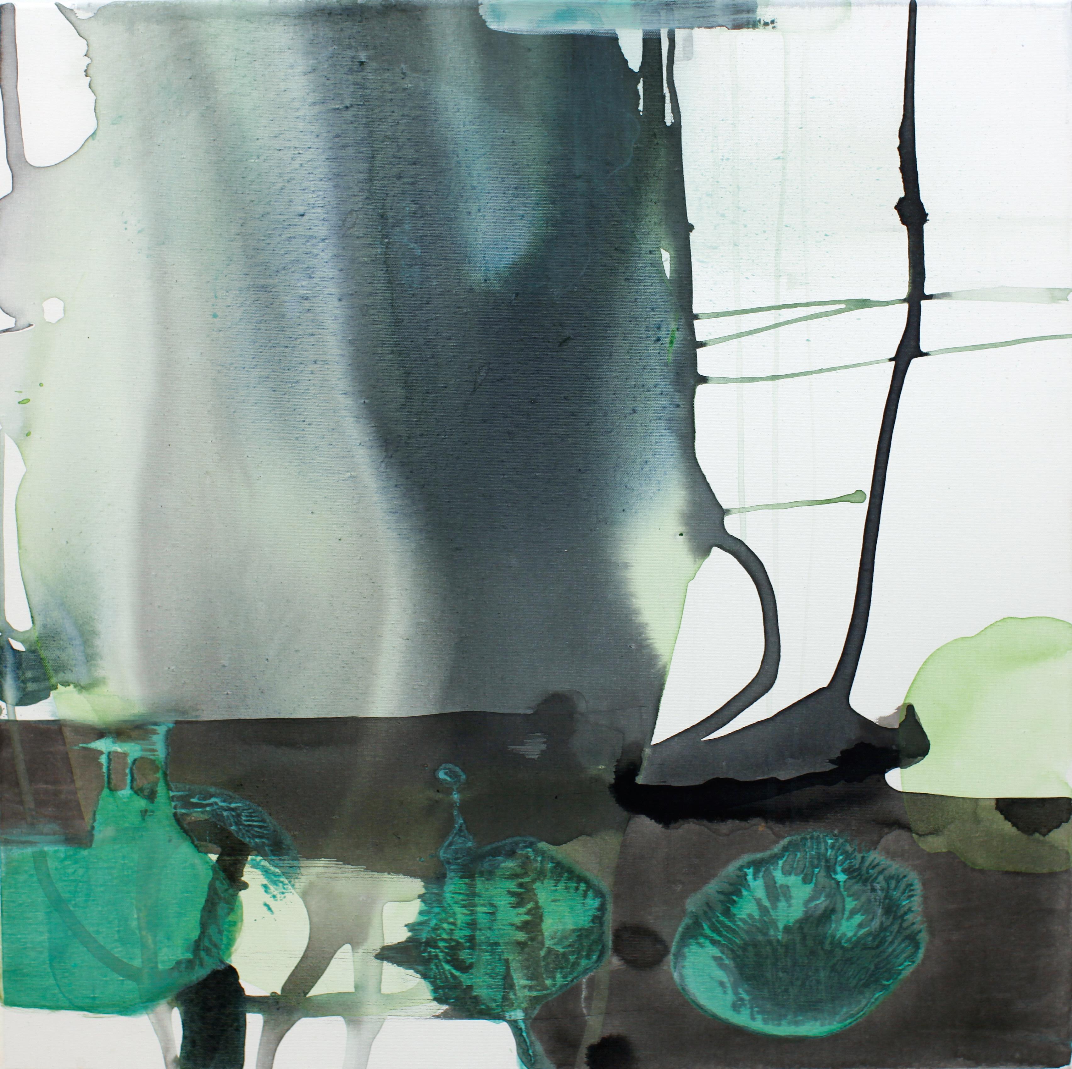 "2011, Fragranza Visibile, ""Victrix"", 70x70cm, acryl/lerret"